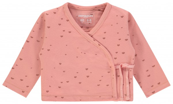 Vest Dusty Pink ligth - Hearts