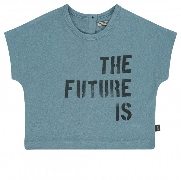 T-shirt pale turquoise